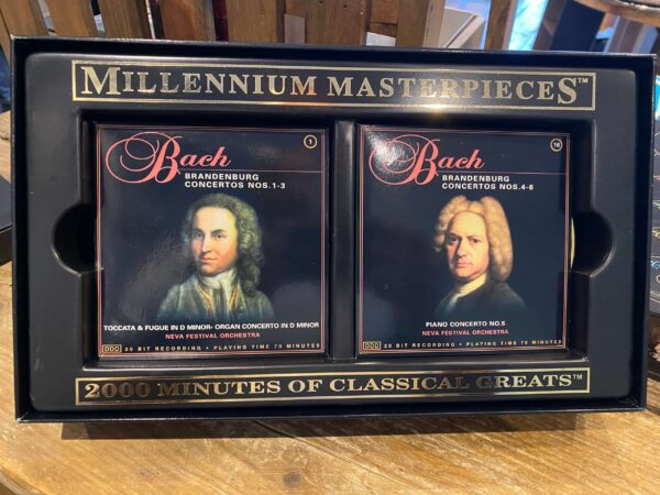 Millennium Masterpieces: Over 2000 Minutes of Classical Greats on 30 CDs