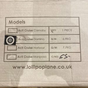 Lollipop Lane Acti-Cruise Domino Stroller